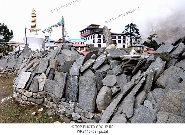 Nepal mountain village