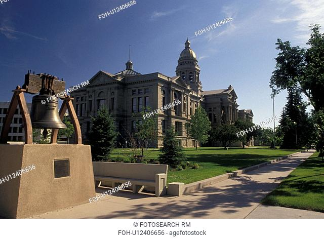 State Capitol, Cheyenne, WY, Wyoming, The Wyoming State Capitol Building in the capital city of Cheyenne