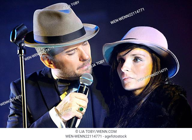 Matt Goss performs at the 'Hold Amy's Hand' fundraiser at the Dorchester Featuring: Matt Goss, Amy Watts Where: London, United Kingdom When: 26 Jan 2015 Credit:...
