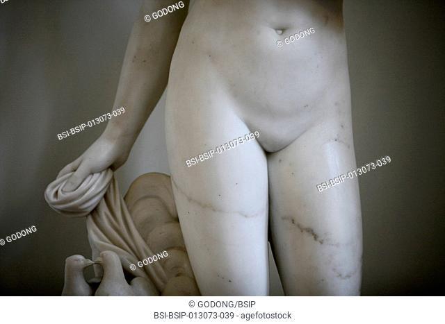 Hermitage Museum. Woman