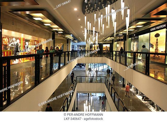 Greenbelt 5 shopping mall in Makati, Manila, Makati City, Manila, Luzon Island, Philippines