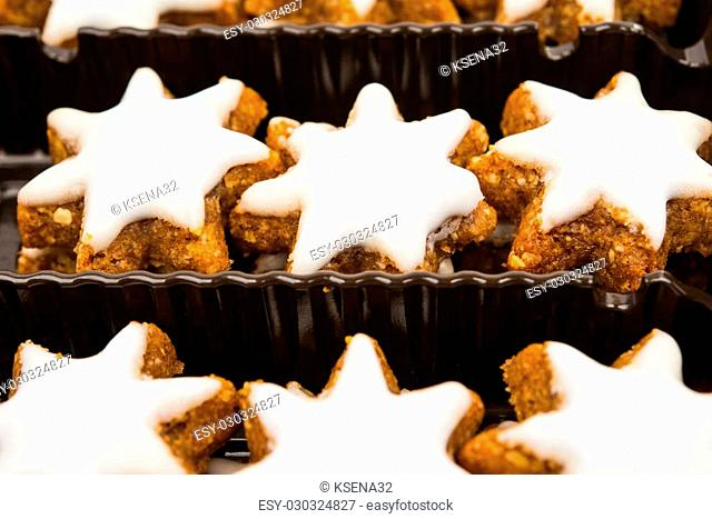 Vanilla Biscuits And Cinnamon Stars Stock Photos And Images Age