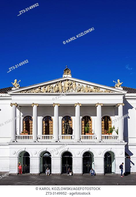 Sucre National Theater, Old Town, Quito, Pichincha Province, Ecuador