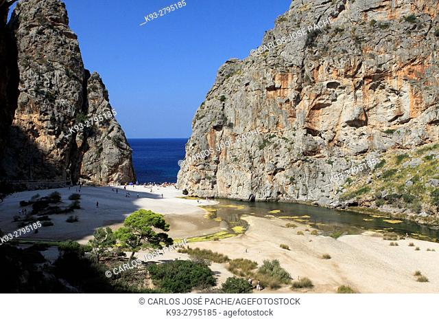 Torrens de Pareis, Serra de Tramuntana, Mallorca, Islas Baleares