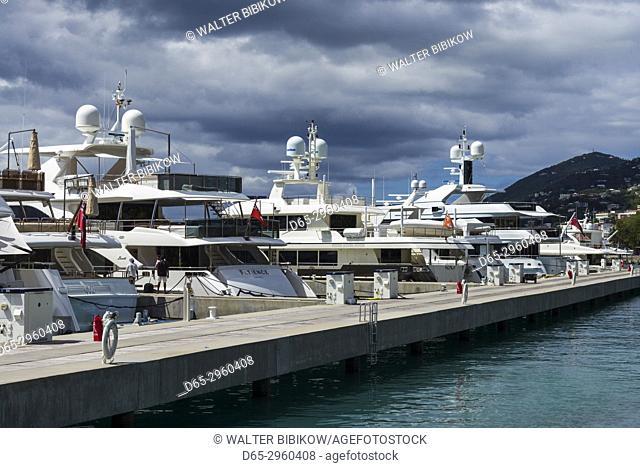 U. S. Virgin Islands, St. Thomas, Charlotte Amalie, Havensight Yacht Harbor