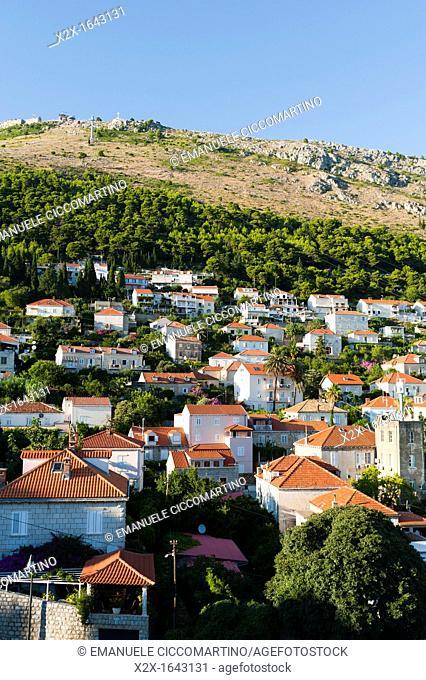 New town view, Dubrovnik, Dubrovnik-Neretva county, Croatia, Europe