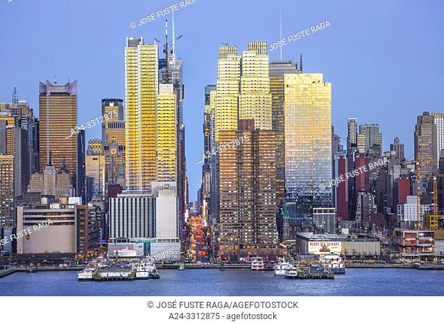 USA, New York City, Manhattan, 42th. Street
