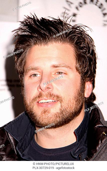 James Roday 11/29/10, Psych: A Twin Peaks Gathering The Paley Center for Media in Los Angeles, Beverly Hills Ph: Izumi Hasegawa/HollywoodNewsWire.net