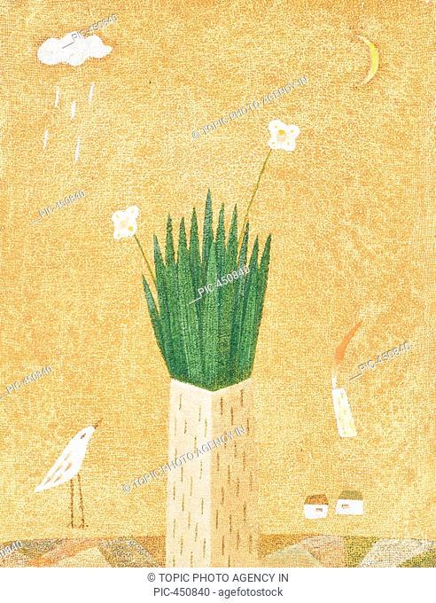 Illustration, Bird