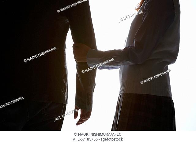 Child prostitution social issue image