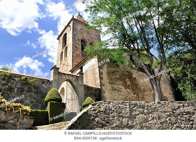 Church. Sant Privat d'en Bas, antic municipi of the comarca de la Garrotxa, which in 1968 will be integrated into the Vall d'en Bas