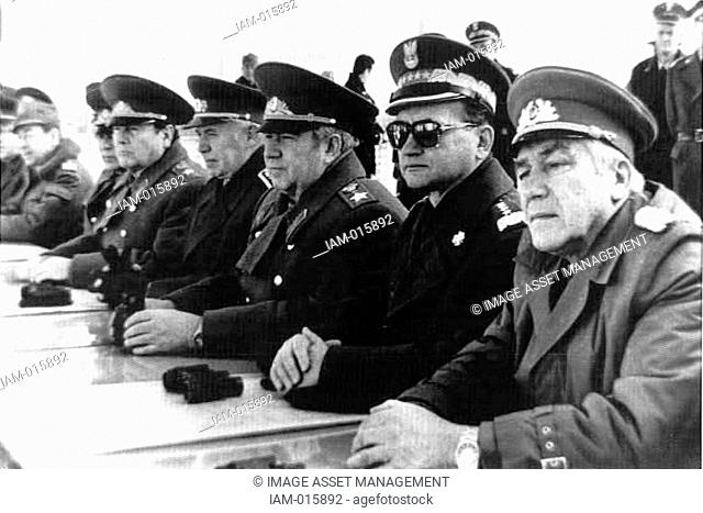 dee79867213 Wojciech Jaruzelski born 1923former Commander-in-chief of the communist  Polish People s Army and