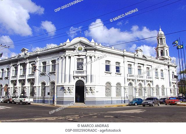a historical building architecture from ceara fortaleza