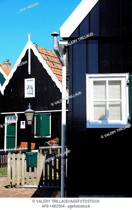 Coastal village of Marken, Holland, Europe