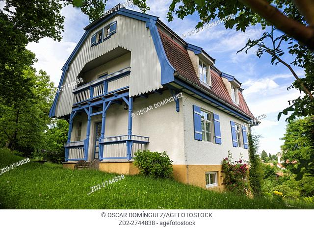 Gabriele Münter painter house, also know as Russian House. Murnau am Staffelsee. Upper Bavaria. Germany