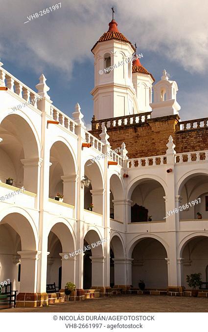 San Francisco Javier Temple. Universidad San Francisco Xavier de Chuquisaca. Sucre. Bolivia
