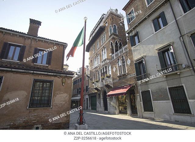 Venice, Veneto, Italy: St Zaccarias square