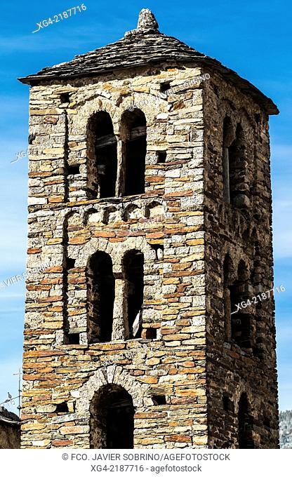 Romanesque church of Sant Joan de Caselles - Canillo - Pyrenees - Andorra - Europe