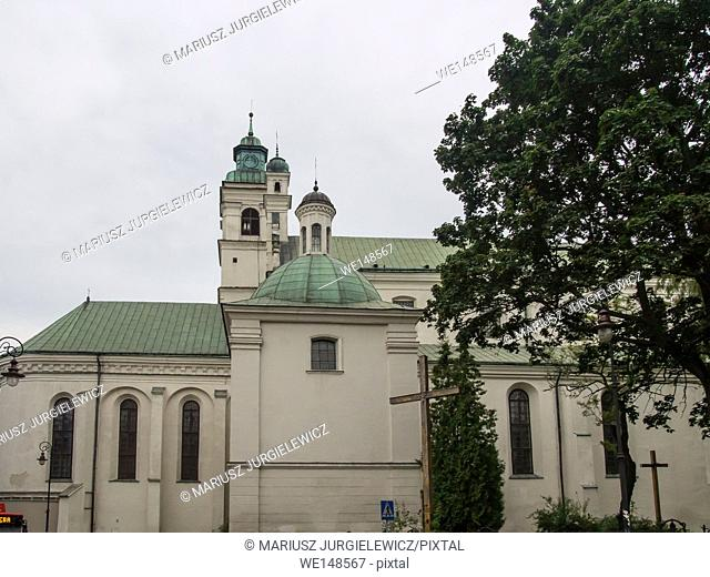 Church of the Holy Spirit is located next to the Lublin City Hall