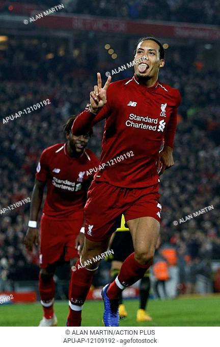 2019 EPL Premier League Football Liverpool v Watford Feb 27th. 27th February 2019, Anfield, Liverpool, England; EPL Premier League football