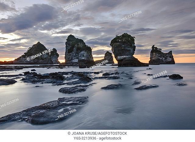 Motukiekie Beach, Greymouth, South Island, New Zealand