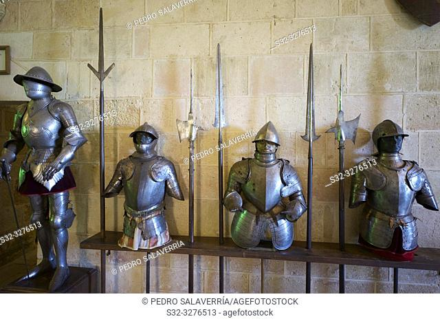 Royal artillery school museum in the Alcazar of Segovia, Castilla Leon, Spain