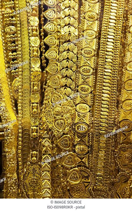 Jewellery in gold souk
