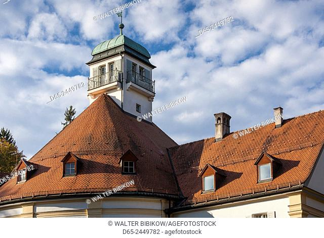 Germany, Bavaria, Bad Tolz, Kurhaus resort building