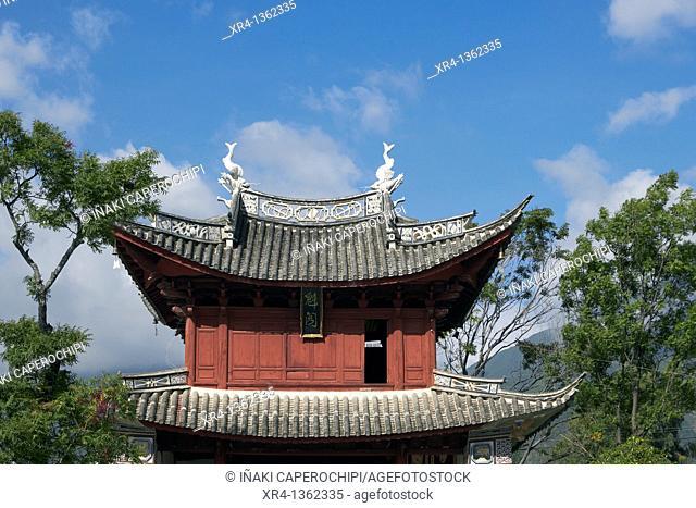 Traditional architecture bai, Xizhou Dali Bai Autonomous Prefecture, Yunnan, China
