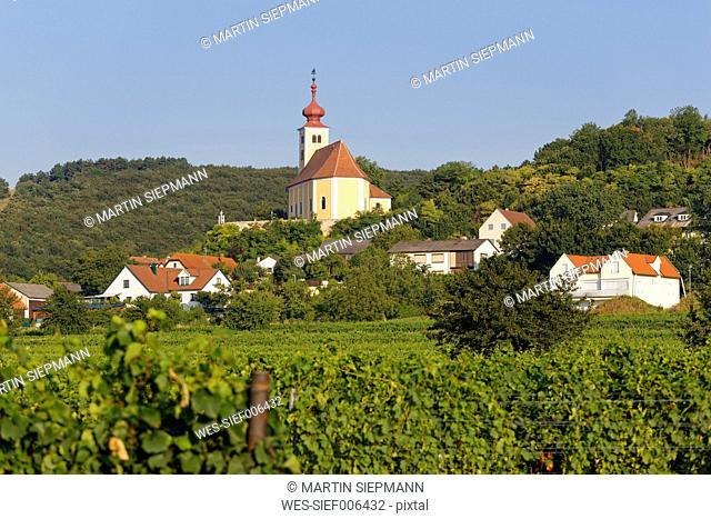 Austria, Burgenland, Donnerskirchen, St Martin's Church