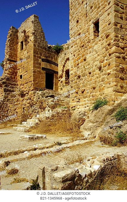 Syria, Masyaf, the Ismaelien castle, also called 'Hashishin' castle (Assassin 's castle)