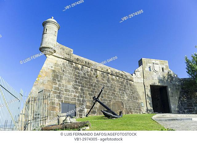 Archaeological museum at San Anton castle. Coruña city, Galicia, Spain, Europe