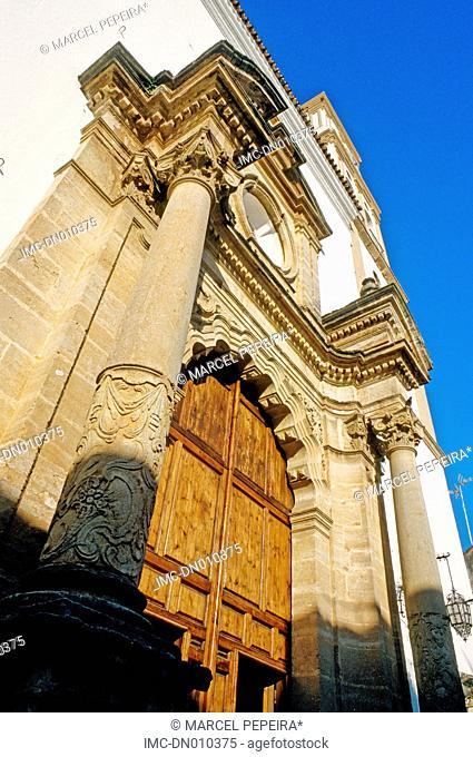 Spain, Andalusia, Marbella, nuestra senora de la encarnacion church