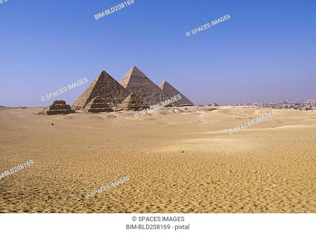 Zoser and Giza Pyramids