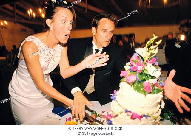 Cake fall