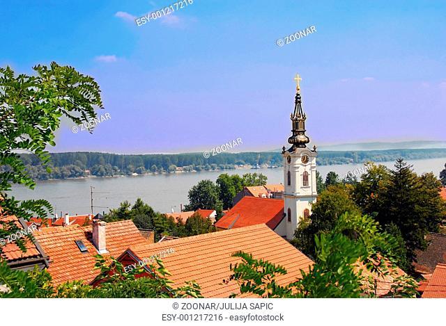 Belgrade cityscape
