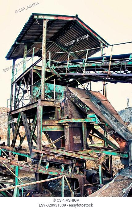 Shaft abandoned gold mine Stock Photos and Images | age fotostock