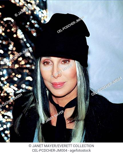 Cher at the premiere of STUCK ON YOU, NY, 12/8/03, by Janet Mayer