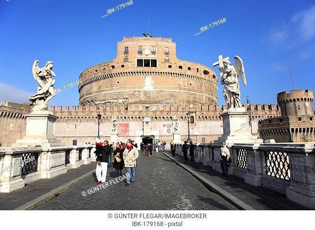 Angel's castle, Castel Sant ' Angelo, Rome, Italy