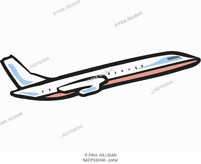 An illustration of an airplane