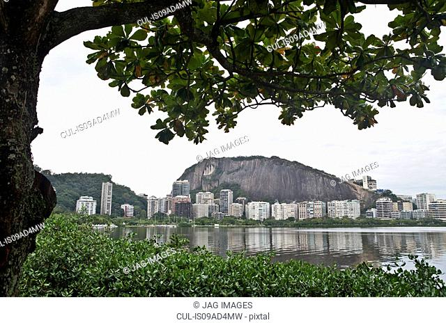 View of sugarloaf mountain and Rio de Janeiro, Brazil