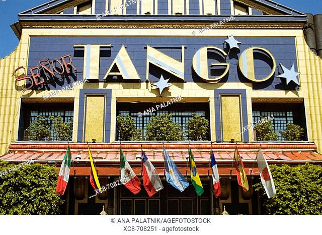 Tango sign, Buenos Aires. Argentina