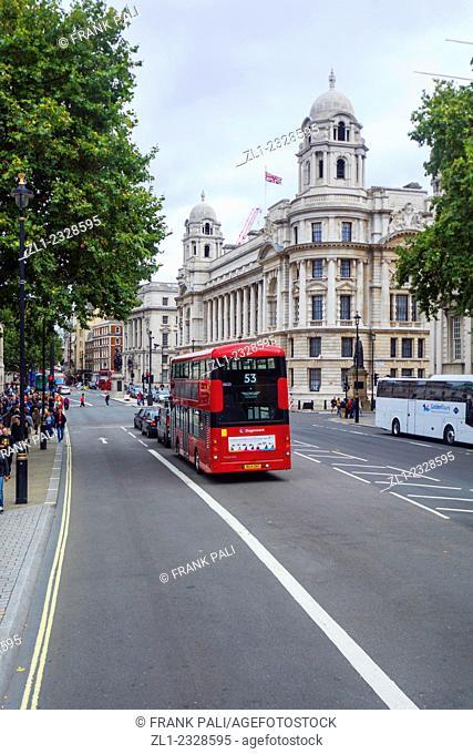 Double deck bus ,London England