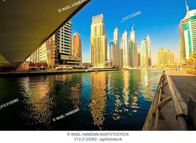 Dubai City, Dubai Marina, United Arab Emirates