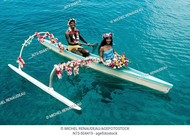 Tahiti. Polynesia