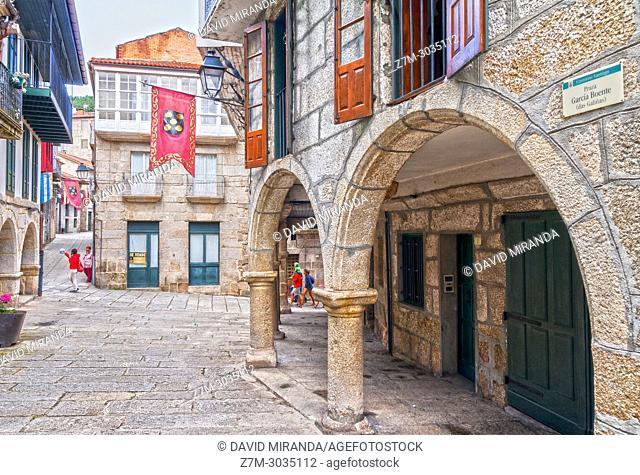 Traditional architecture. Ribadavia. Ourense. Galicia. Spain