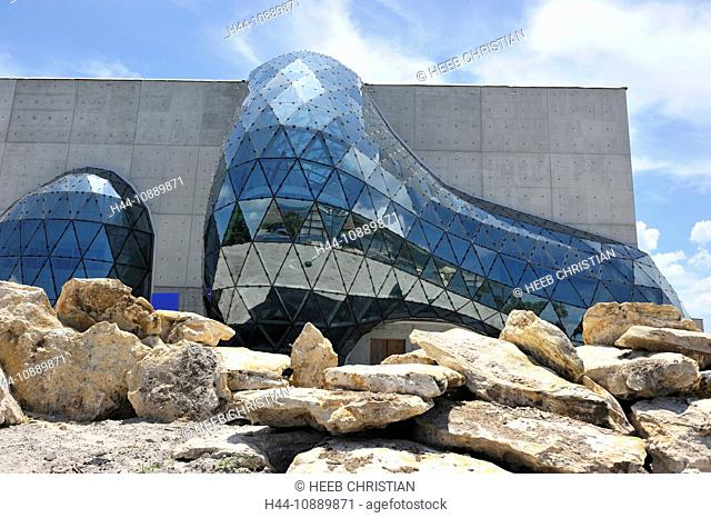 New Salvador Dali Museum, St. Petersburg, Florida, USA, United States, America, glass, museum