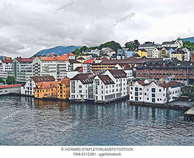 Bergen, Norway. Waterfront