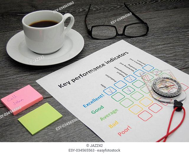 Using key performance indicators to set the direction for the company