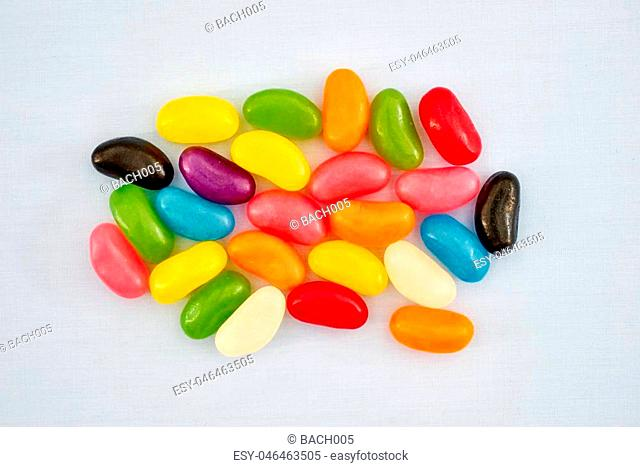 A studio photo of jelly beans